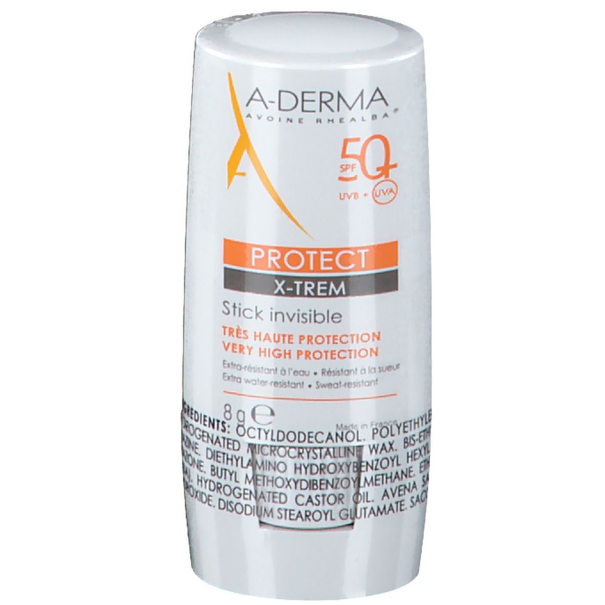 Image of A-Derma X-TREM INVISIBLE STICK SPF 50+